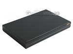 picture of Black Backgammon Set with Racks - Flower (9 of 12)