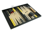 picture of Black Backgammon Set with Racks - Black (2 of 12)