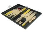 picture of Black Backgammon Set with Racks - Black (3 of 12)