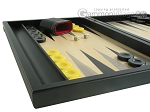 picture of Black Backgammon Set with Racks - Black (5 of 12)