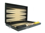picture of Black Backgammon Set with Racks - Black (7 of 12)