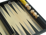 picture of Black Backgammon Set with Racks - Black (10 of 12)