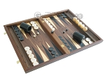 picture of Walnut Backgammon Set with Racks (2 of 12)