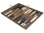 picture of Walnut Backgammon Set with Racks (3 of 12)