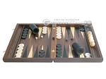 picture of Walnut Backgammon Set with Racks (4 of 12)