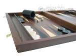 picture of Walnut Backgammon Set with Racks (5 of 12)
