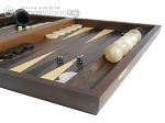 picture of Walnut Backgammon Set with Racks (6 of 12)