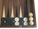 picture of Walnut Backgammon Set with Racks (8 of 12)