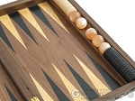 picture of Carved Walnut Backgammon Set with Racks (10 of 12)