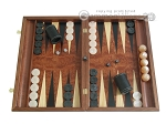 picture of Rosewood Backgammon Set with Racks (1 of 12)