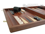 picture of Rosewood Backgammon Set with Racks (5 of 12)