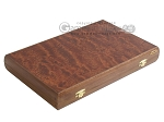 Rosewood Backgammon Set with Racks - Item: 2304