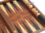 picture of Rosewood Backgammon Set with Racks (10 of 12)