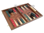 picture of Rosewood Backgammon Set with Racks & Slotted Checkers (2 of 11)