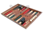 picture of Rosewood Backgammon Set with Racks & Slotted Checkers (3 of 11)