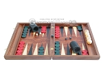 picture of Rosewood Backgammon Set with Racks & Slotted Checkers (4 of 11)