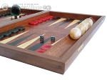 picture of Rosewood Backgammon Set with Racks & Slotted Checkers (6 of 11)
