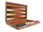 picture of Rosewood Backgammon Set with Racks & Slotted Checkers (7 of 11)