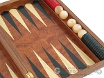 picture of Rosewood Backgammon Set with Racks & Slotted Checkers (10 of 11)