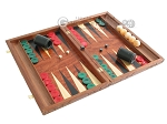 picture of Carved Rosewood Backgammon Set with Racks (2 of 12)