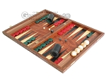 picture of Carved Rosewood Backgammon Set with Racks (3 of 12)