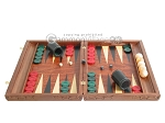 picture of Carved Rosewood Backgammon Set with Racks (4 of 12)