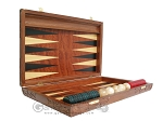 picture of Carved Rosewood Backgammon Set with Racks (7 of 12)