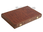 picture of Carved Rosewood Backgammon Set with Racks (9 of 12)