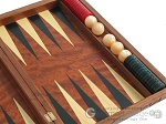 picture of Carved Rosewood Backgammon Set with Racks (10 of 12)