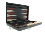 picture of Black Backgammon Set with Racks - Red (7 of 12)