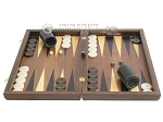 picture of Walnut Backgammon Set with Colored Inlays (4 of 12)