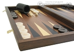picture of Walnut Backgammon Set with Colored Inlays (5 of 12)