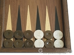picture of Walnut Backgammon Set with Colored Inlays (8 of 12)