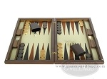 picture of Dal Negro Wood Backgammon Set - Briar Root (4 of 10)