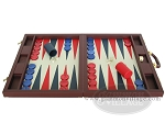 picture of Dal Negro Eco Leather Backgammon Set - Bordeaux (4 of 10)