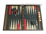 picture of Sensation Backgammon Set with Racks - Model 402 (1 of 12)