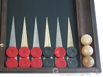 picture of Sensation Backgammon Set with Racks - Model 402 (8 of 12)