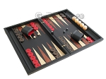 picture of Sensation Backgammon Set with Racks - Model 406 (2 of 12)