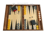 picture of Sensation Backgammon Set with Racks - Model 408 (1 of 12)