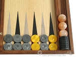 picture of Sensation Backgammon Set with Racks - Model 408 (8 of 12)
