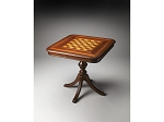 Morphy Antique Cherry  Chess/Checkers and Backgammon Game Table - Item: 4011