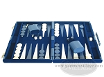 picture of 18-inch Deluxe Backgammon Set - Blue (4 of 9)