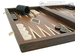 picture of Walnut Backgammon Set wth Double Inlays (5 of 12)