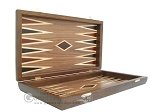 picture of Walnut Backgammon Set wth Double Inlays (7 of 12)