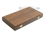 picture of Walnut Backgammon Set wth Double Inlays (9 of 12)