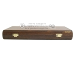picture of Walnut Backgammon Set wth Double Inlays (11 of 12)