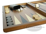 picture of Dal Negro Wood Backgammon Set - Walnut (5 of 10)