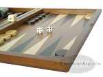 picture of Dal Negro Wood Backgammon Set - Walnut (6 of 10)