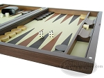 picture of Dal Negro Wood Backgammon Set - Briar Root (6 of 10)