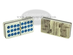 picture of Double 12 Venetian Dominoes in Dibond Box (6 of 7)